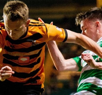 Ross's Alloa Push Celtic All The Way