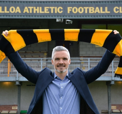 Goodwin Appointed Alloa Manager