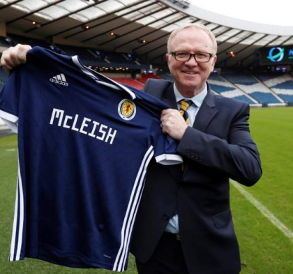 ALEX MCLEISH NAMED AS NEW SCOTLAND MANAGER