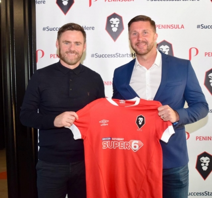 GRAHAM ALEXANDER APPOINTED AS NEW MANAGER OF SALFORD CITY