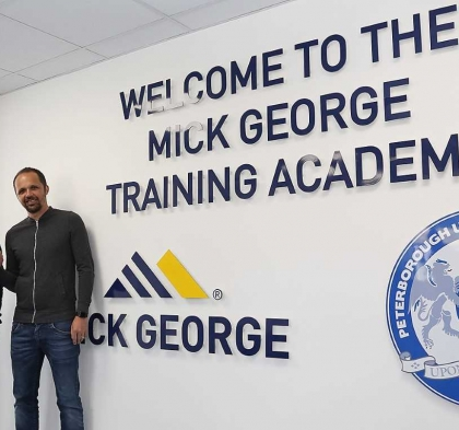 MATTHEW ETHERINGTON APPOINTED AS UNDER 18S MANAGER AT PETERBOROUGH UNITED