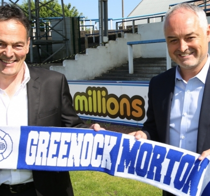 RAY MCKINNON ANNOUNCED AS NEW MANAGER FOR GREENOCK MORTON FC