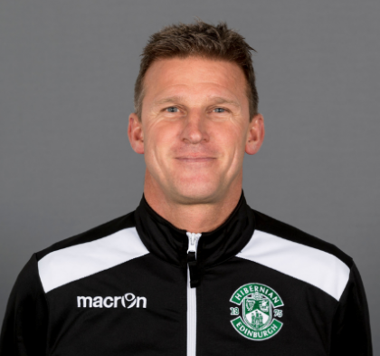 EVANS APPOINTED AS HEAD OF YOUTH AT HIBERNIAN