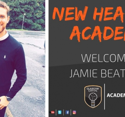 BEATTIE JOINS GLASGOW CITY FC AS HEAD OF ACADEMY