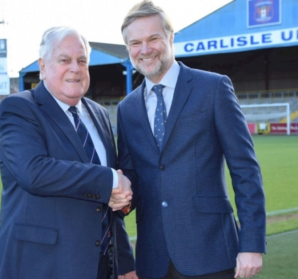PRESSLEY ANNOUNCED AS NEW MANAGER OF CARLISLE UNITED