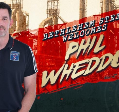 WHEDDON NAMED AS NEW GOALKEEPING COACH FOR BETHLEHEM STEEL