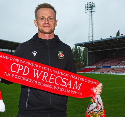 Dean Keates Reappointed as Wrexham Manager