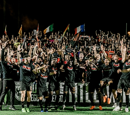 Peter Ramage's Phoenix Rising Crowned 2019 USL Championship Regular-Season Title Winners