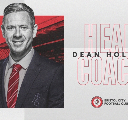 Bristol City Unveil Head Coach Dean Holden