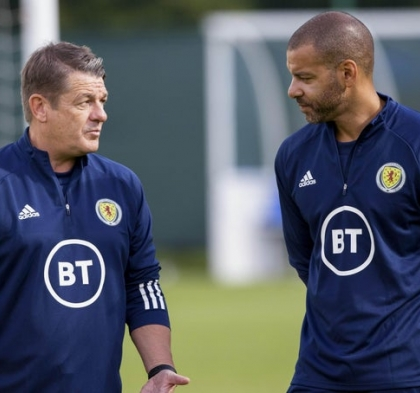 John Carver joins Scotland's coaching staff