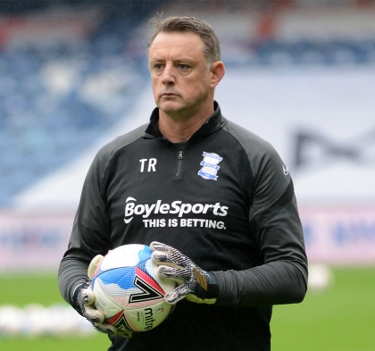 TONY ROBERTS HAS JOINED AITOR KARANKA'S BACKROOM STAFF AS GOALKEEPER COACH