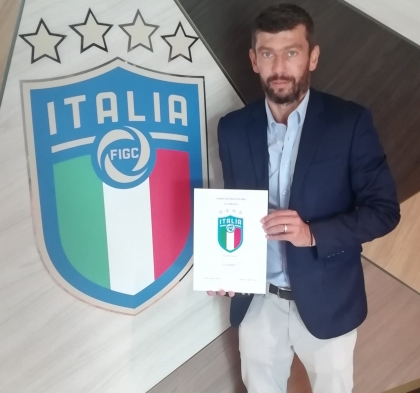 CLIENT NEWS: DONATI EARNS UEFA PRO LICENCE